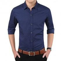 Men Linen Formal Shirt