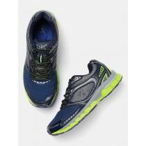 Men Navy & Grey Running Shoes